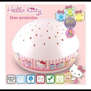 Hello Kitty Night Light Star Projector- brand new